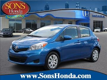 2014 Toyota Yaris for sale in Mcdonough, GA