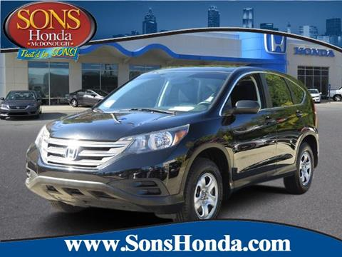 2014 Honda CR-V for sale in Mcdonough, GA
