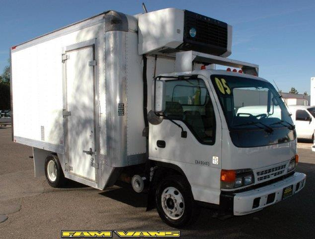 2005 Isuzu NPR Reefer Box Truck for sale in Fountain Valley CA