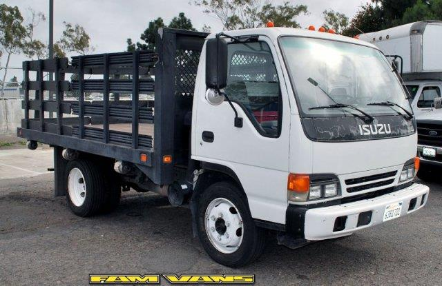2005 Isuzu NQR 12ft Stakebed for sale in Fountain Valley CA