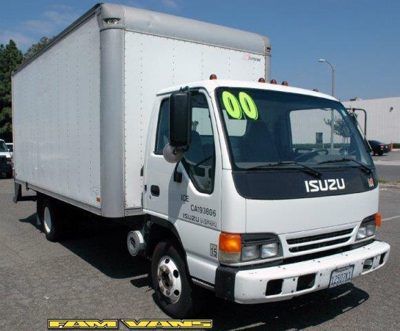 2000 Isuzu NPR  16ft Box Truck for sale in Fountain Valley CA