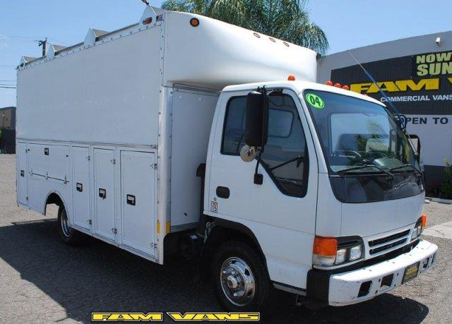 2004 Isuzu NPR Utility Box Truck for sale in Fountain Valley CA