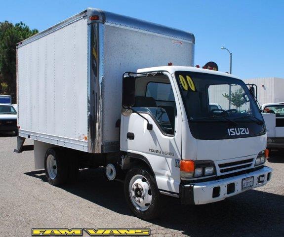 2000 Isuzu NPR 10ft Box Truck for sale in Fountain Valley CA
