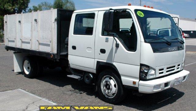 2006 Isuzu NQR Dump Truck for sale in Fountain Valley CA