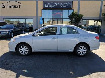 2010 Toyota Corolla for sale in Fountain Valley, CA