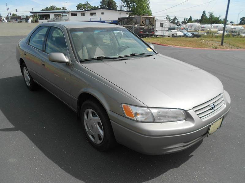 1998 toyota camry le v6 4dr sedan in jackson ca mountain auto. Black Bedroom Furniture Sets. Home Design Ideas
