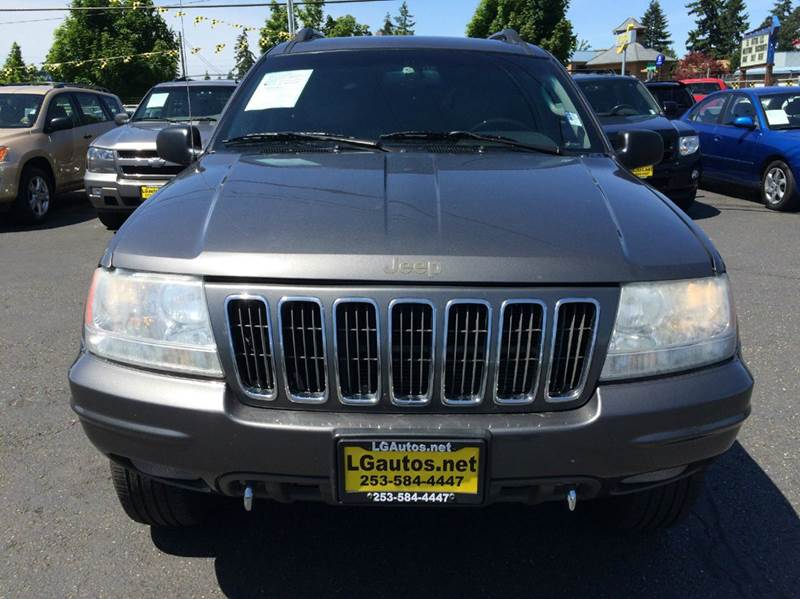 2002 jeep grand cherokee 4dr overland 4wd suv in lakewood. Black Bedroom Furniture Sets. Home Design Ideas