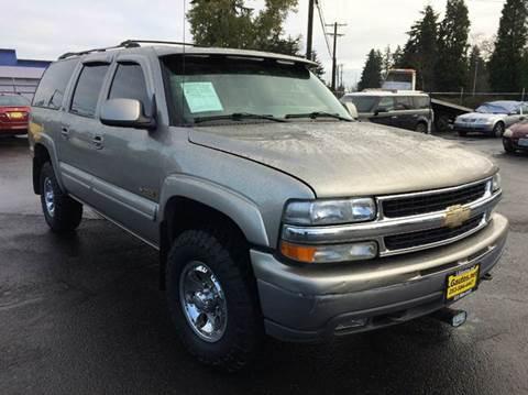 2001 Chevrolet Suburban for sale in Lakewood, WA