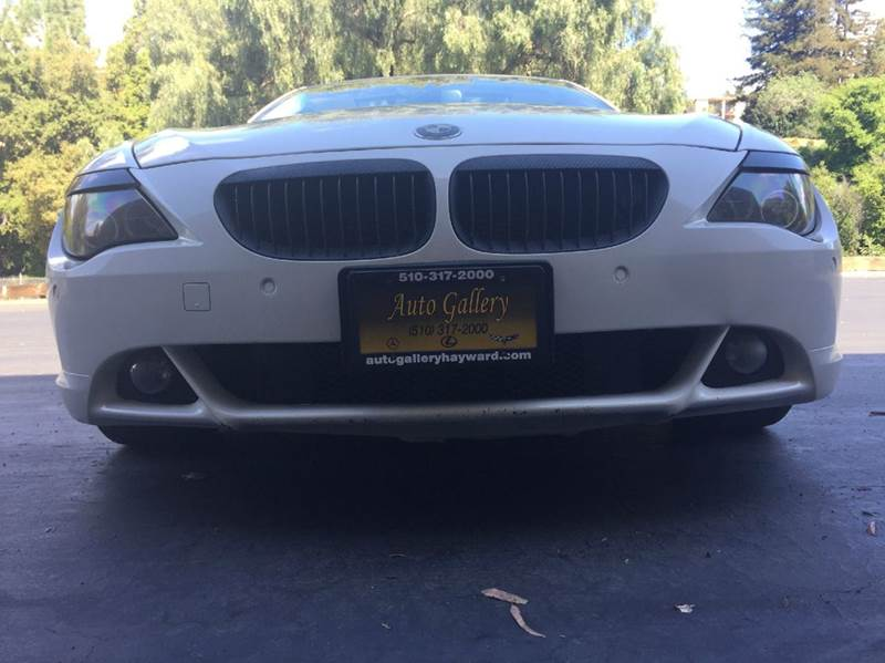 2007 BMW 6 Series 650i 2dr Coupe - Hayward CA