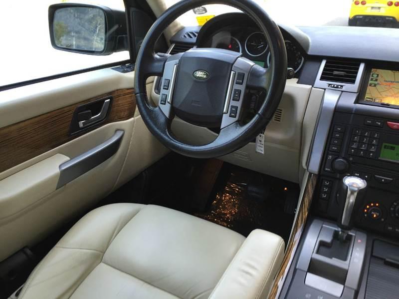 2008 Land Rover Range Rover Sport HSE 4x4 4dr SUV - Hayward CA