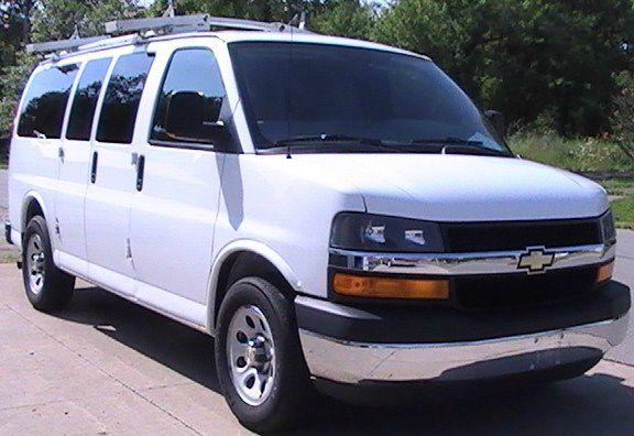 2010 Chevrolet Express Window Van
