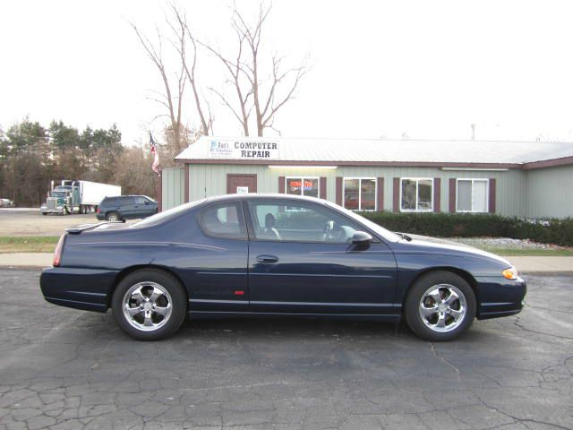 2002 CHEVROLET MONTE CARLO SS navy fast  furious - 2002 chevrolet monte carlo ss - this coupe is
