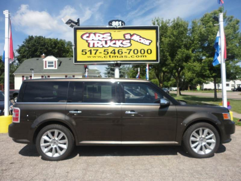 2011 FORD FLEX LIMITED 4DR WAGON brown  super nice  2011 ford flex limited loaded up with navig