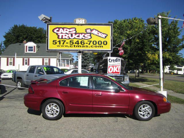 2004 PONTIAC GRAND AM SE SEDAN maroon sporty gas saver the grand am was pontiacs answer for cust