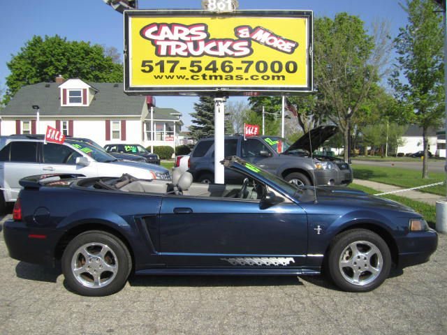 2003 FORD MUSTANG PREMIUM CONVERTIBLE blue summer fun in the sun  very nice clean used 2003 ford