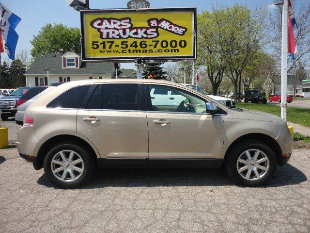2007 LINCOLN MKX BASE 4DR SUV gold  2007 lincoln mkx  loaded luxury suv new to our inventory p