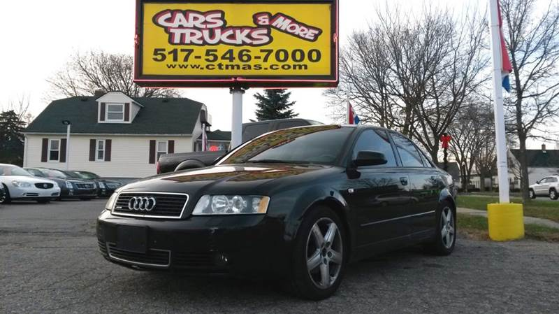 2004 AUDI A4 18T QUATTRO AWD 4DR SEDAN silver  2004 audi a4  new to our inventory pix and