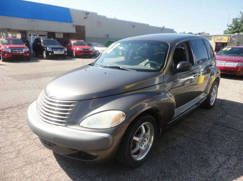 2002 CHRYSLER PT CRUISER LIMITED EDITION 4DR WAGON brown 2002 chrysler pt cruiser limited edition