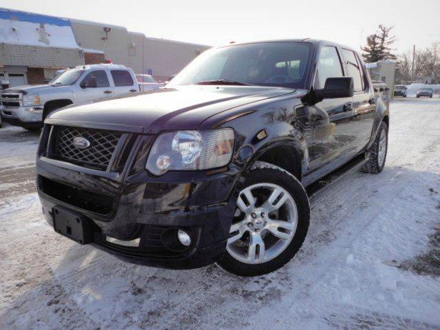 2009 FORD EXPLORER SPORT TRAC ADRENALIN PACKAGE V8 midnight black rare find check out this spe