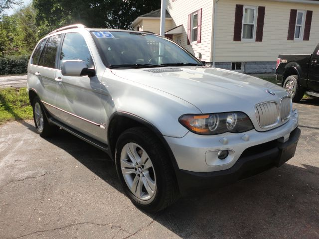 2005 BMW X5 44I AWD 4DR SUV silver 2005 bmw x5 suv - low miles on this loaded luxury all wheel d