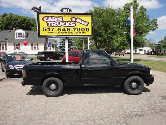 2002 FORD RANGER XL 2DR REGULAR CAB 2WD STYLESIDE black  budget ranger  2002 ford ranger stick