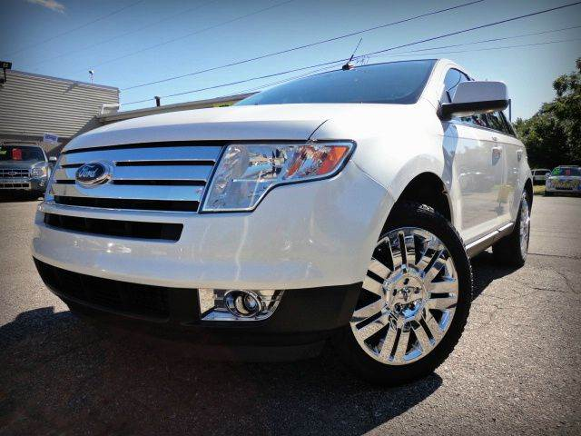 2010 FORD EDGE LIMITED white metallic tri-coat absolutely beautiful one owner 2010 ford edge limi