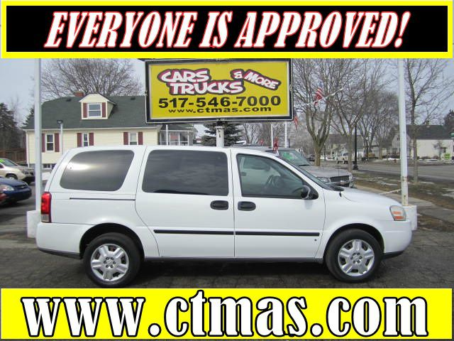 2006 CHEVROLET UPLANDER CARGO VAN FWD white tired of using that gas-hog full size cargo van to ma