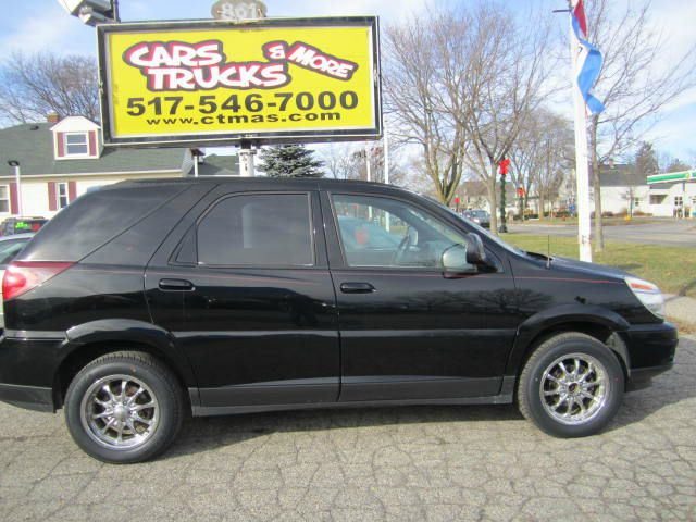 2007 BUICK RENDEZVOUS CXL 4DR SUV black 2007 buick rendezvous brand new tires sharp clean suv 3r