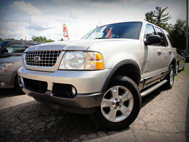 2004 FORD EXPLORER XLT SUV silver birch metallic 2004 ford explorer xlt - only two previous owner