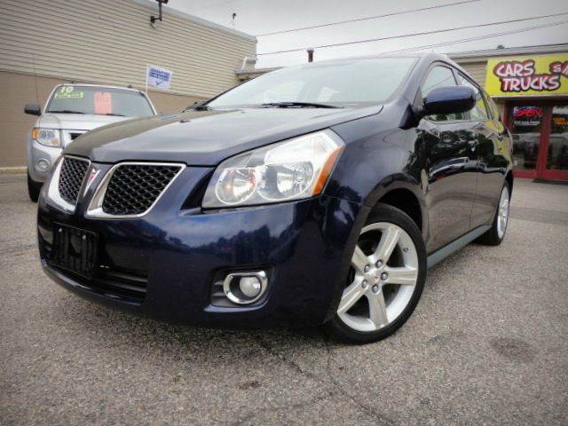 2009 PONTIAC VIBE navy blue metallic one owner no accident 2009 pontiac vibe the vibe is a very