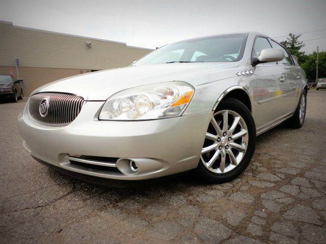 2008 BUICK LUCERNE CXS SEDAN silver birch metallic spectacular 2008 buick lucerne cxl equipped wit