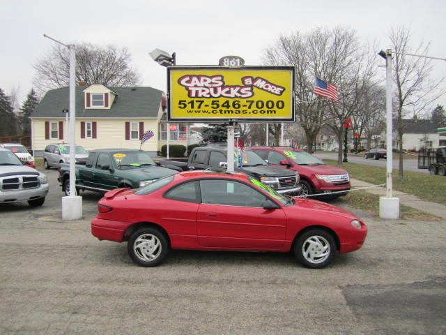 1999 FORD ESCORT ZX2 COOL bright red 1999 ford escort zx2 cool package with the peppy 20l 4 cyl