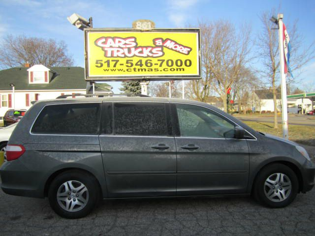 2007 HONDA ODYSSEY EX-L WDVD 4DR MINIVAN WDVD silver nice and clean  2007 honday odyssey exl wi