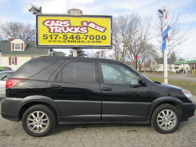 2005 BUICK RENDEZVOUS CXL AWD 4DR SUV black 2005 buick rendezvous very clean 116685 miles 3rd r