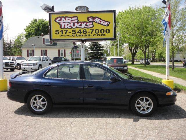 2000 OLDSMOBILE INTRIGUE GLS 4DR SEDAN blue  2000 oldsmobile intrigue with low miles only 90k