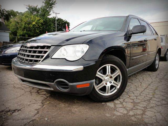 2007 CHRYSLER PACIFICA TOURING AWD 4DR WAGON black looking to finance a nice clean vehicle  chec
