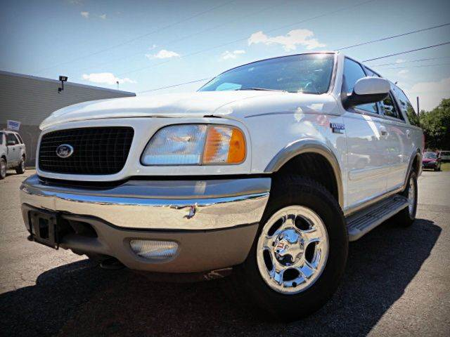 2002 FORD EXPEDITION EDDIE BAUER 4WD 4DR SUV oxford white clearcoat one owner no accident 2002 f