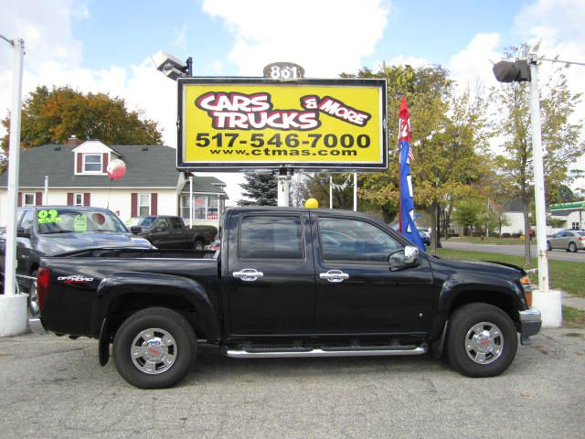 2007 GMC CANYON SLE CREW CAB 4WD black one owner vehicle 2007 gmc canyon sle crew cab 4x4 black