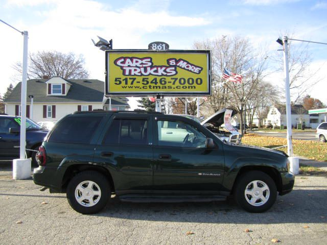 2002 CHEVROLET TRAILBLAZER LS 2WD forest green clean 2002 chevrolet trailblazer - this mid-sized s