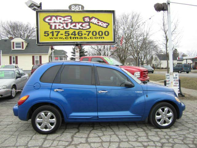 2003 CHRYSLER PT CRUISER LIMITED EDITION electric blue beautiful 2003 chrysler pt cruiser with lim