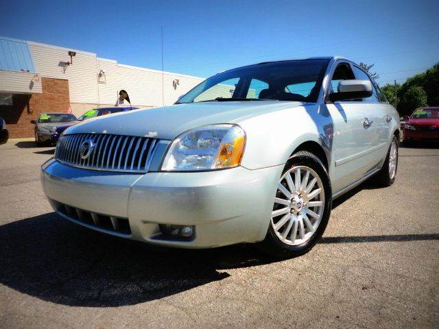2006 MERCURY MONTEGO PREMIER 4DR SEDAN light tundra clearcoat metall one owner - no accident if
