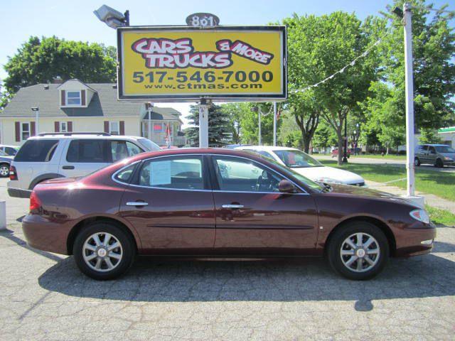 2007 BUICK LACROSSE CXL 4DR SEDAN maroon one owner  nice used 2007 buick cxl - premium mid-sized