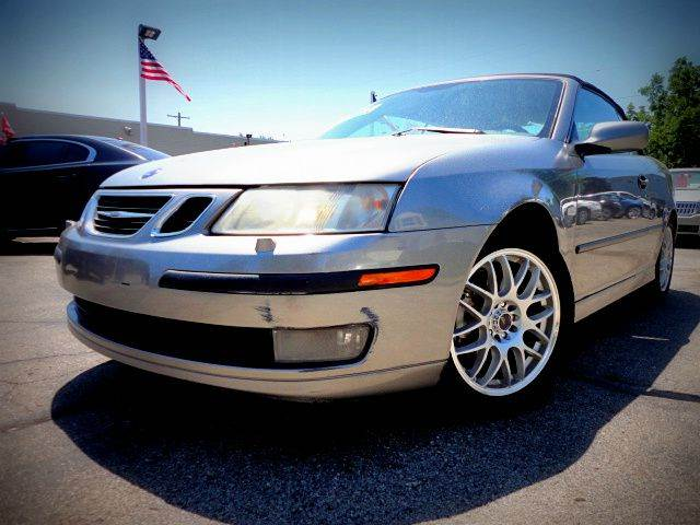 2004 SAAB 9-3 ARC 2DR TURBO CONVERTIBLE steel gray metallic sporty fast and efficient 2004 saab