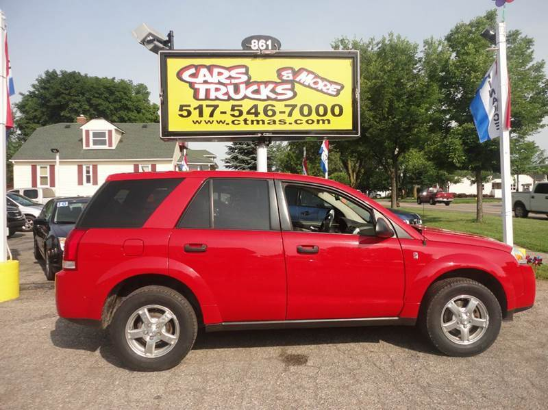 2007 SATURN VUE BASE 4DR SUV red  2007 saturn vue  weve put brand new tires on this sharp 4-do