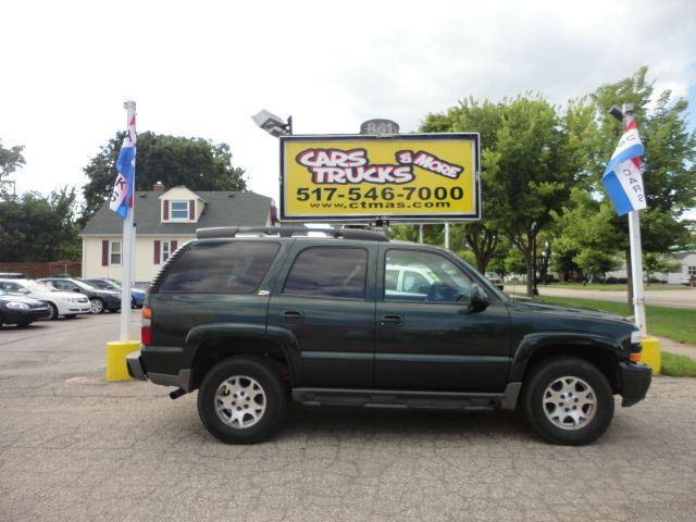 2002 CHEVROLET TAHOE LS 4WD 4DR SUV green  low mileage  2002 chevy tahoe with only 80l miles