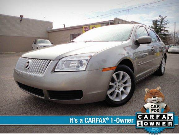 2008 MERCURY MILAN V6 4DR SEDAN vapor silver metallic one owner no accident extra clean 2008 me