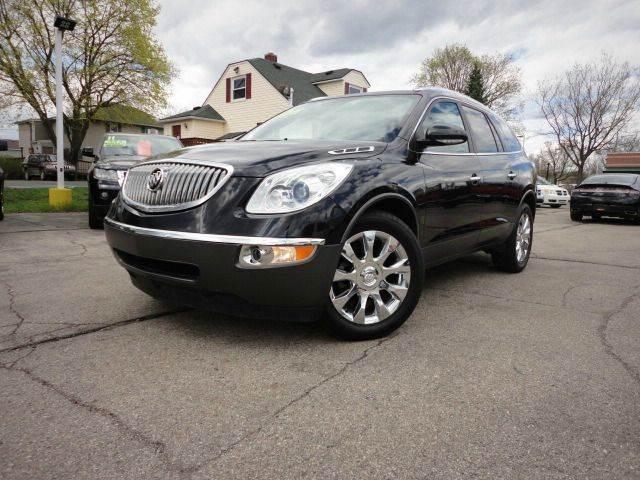 2012 BUICK ENCLAVE PREMIUM AWD carbon black metallic beautiful 2012 buick enclave premium with all