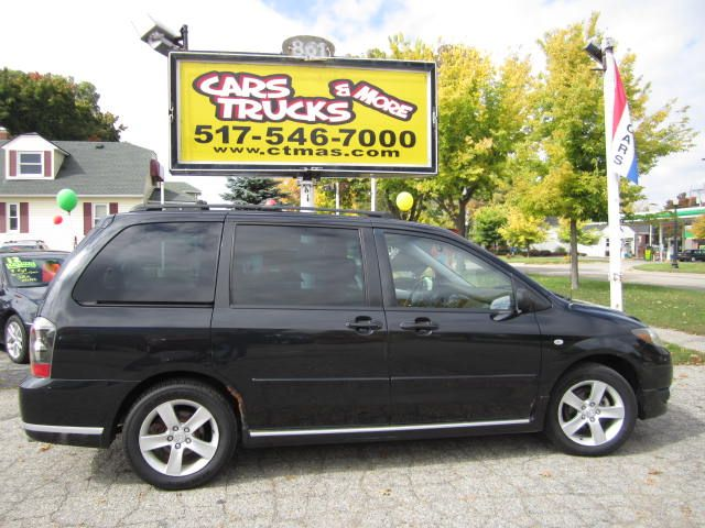 2005 MAZDA MPV ES 4DR MINIVAN black  2005 mazda mvp  - super nice 3rd row minivan loaded up wi