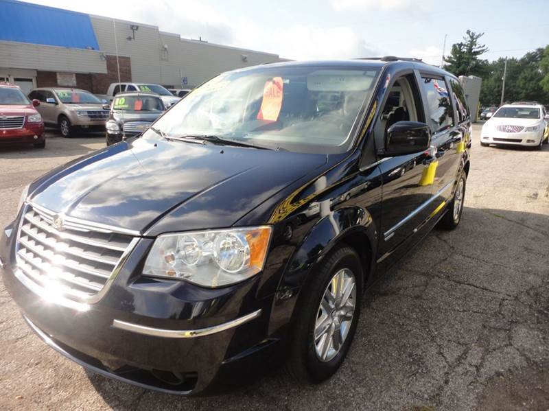 2010 CHRYSLER TOWN AND COUNTRY TOURING 4DR MINI VAN blue  2010 chrysler town  country with walte