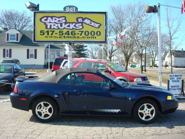 2003 FORD MUSTANG PREMIUM CONVERTIBLE navy blue 2003 ford mustang premium coupe convertible with p